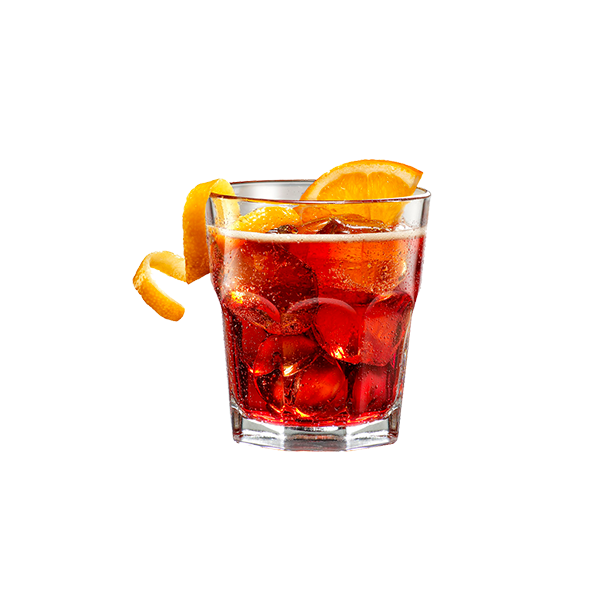 AMERICANO - Campari bitter, vermouth rosso e soda