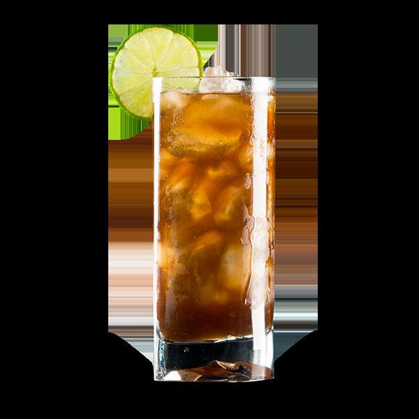LONG ISLAND - Gin, rum bianco, tequila, triple sec, vodka, succo di limone, sciroppo di zucchero e coca cola