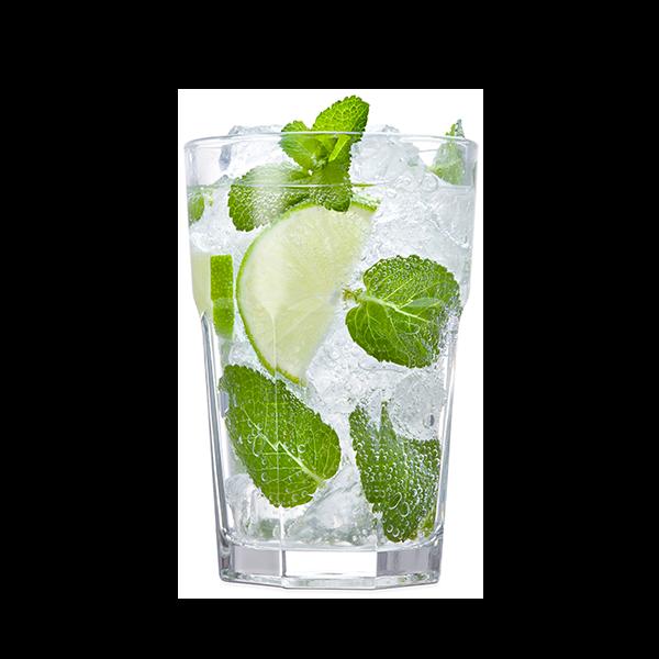 MOJITO - Rum bianco, zucchero di canna, menta, succo di lime e soda