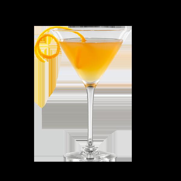 SIDECAR - Cognac, triple sec e succo di limone
