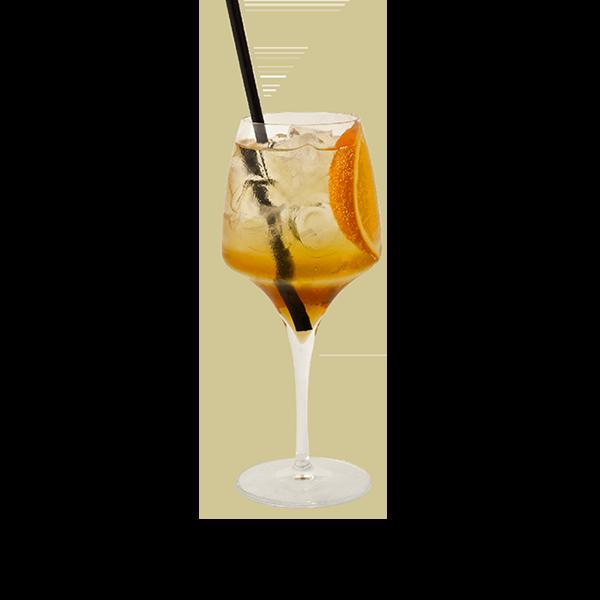 SPRITZCUS - Italicus(rosolio di Bergamotto) prosecco brut, olive verdi ed essenza di Bergamotto
